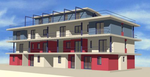 edificio appartamenti - vista