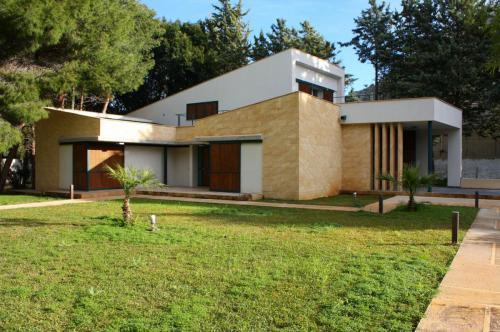 villa unifamiliare - volumi