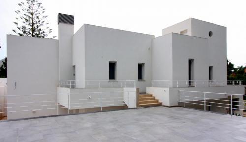 villa unifamiliare-volumi